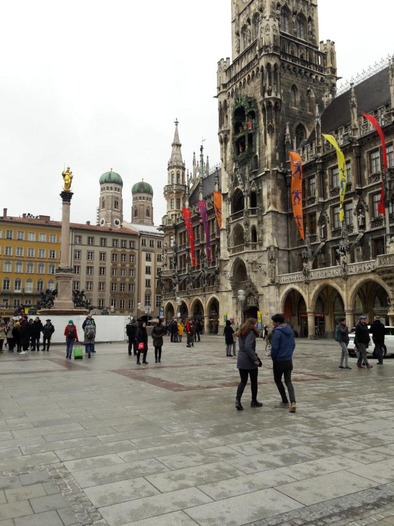 Múnich Alemania Una Ciudad Con Clase, MarienPlatz