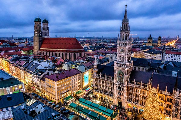 Múnich Alemania Una Ciudad Imperdible