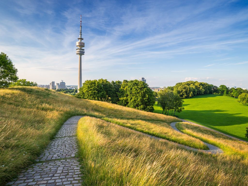 Múnich Alemania Una Ciudad Con Clase, OlympiaPark