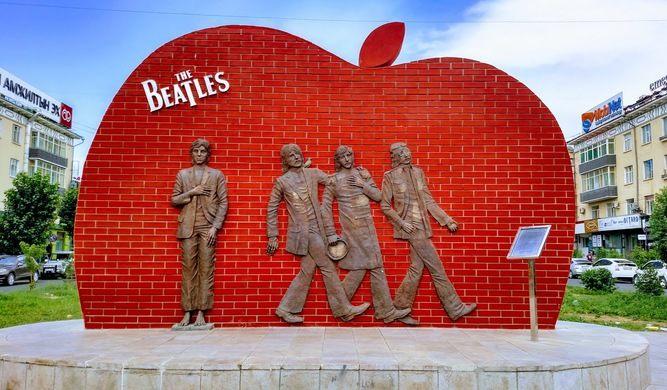 Viajar a Ulán Bator Capital De Mongolia, Beatles Square