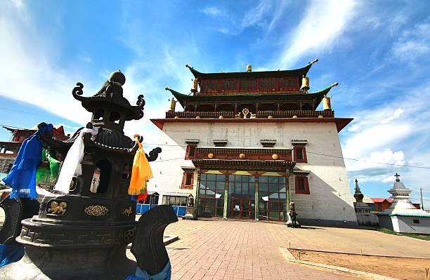 Viajar a Ulán Bator Capital De Mongolia, Gandan Khiid