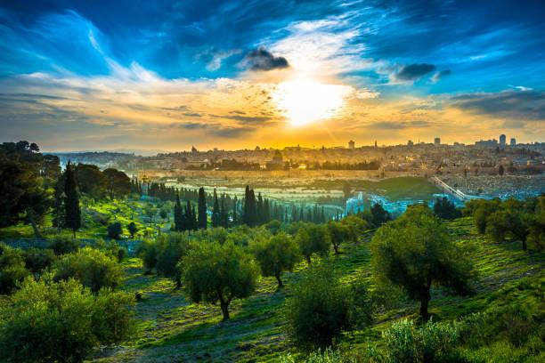 Tierra Santa de Jerusalén, Beatas Tierras De Israel, Monte de los Olivos