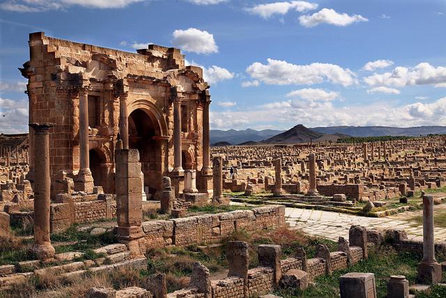 Constantina Argelia, La Ciudad De Los Puentes, Ruinas de Tiddis