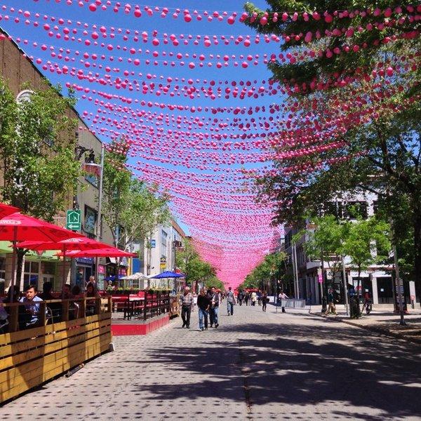 Rue Sainte Catherine Canadá