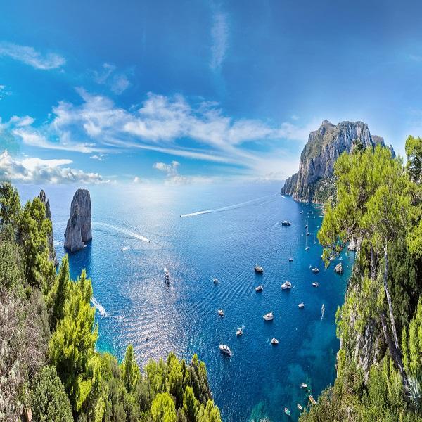 Capri la isla de azul cobalto