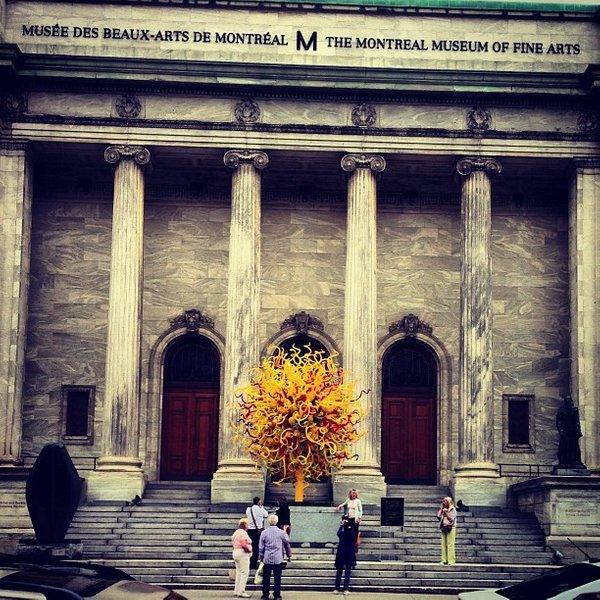Museo de Bellas Artes en Montreal Canadá