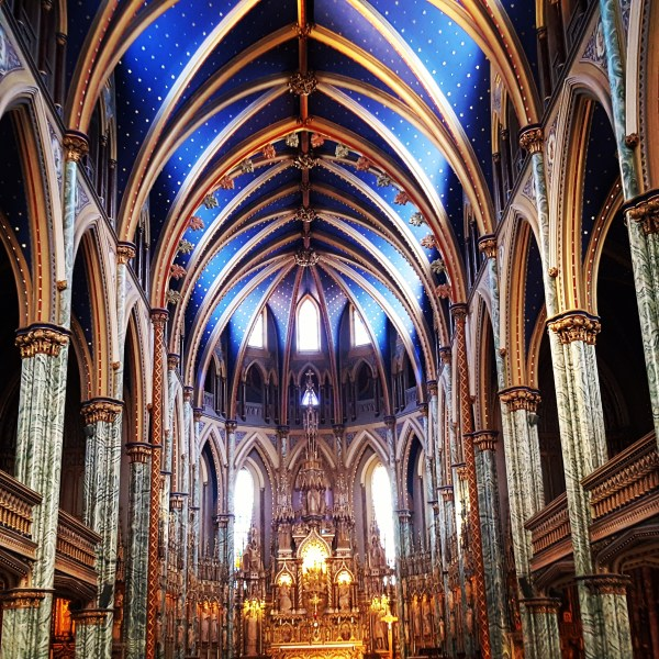 Basílica de Notre-Dame Canadá