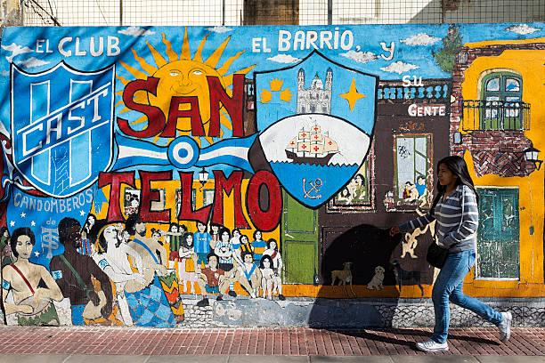 Buenos Aires, La Gran Urbe Argentina, San Telmo