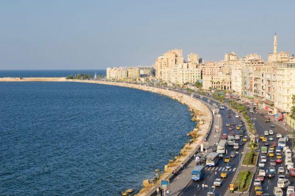 El Corniche, Alejandría