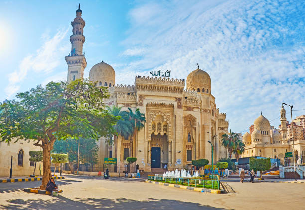 El-Mursi Abul Abbas, Alejandría