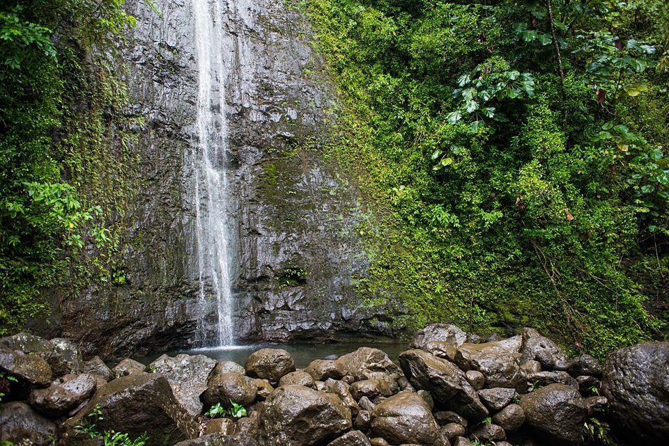 Honolulu, El Puerto Protegido de Hawai, Manoa