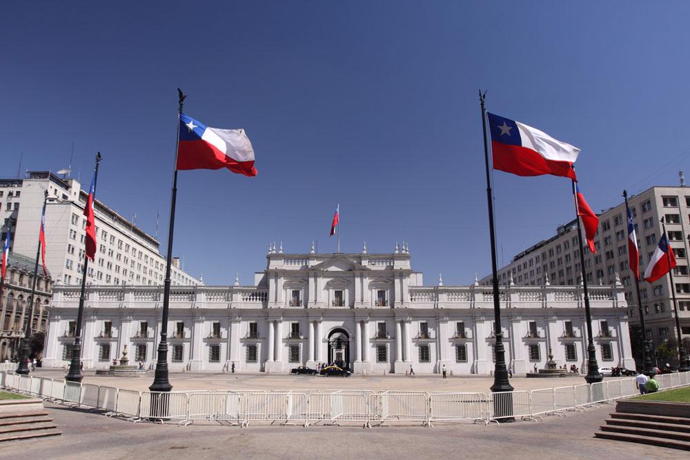 Santiago de Chile, Palacio la Moneda