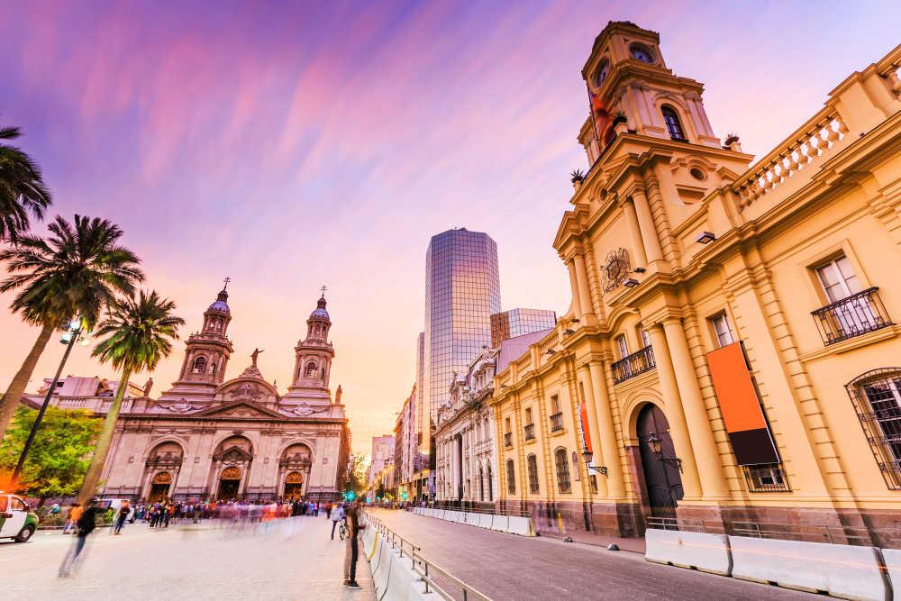 Santiago de Chile, Plaza