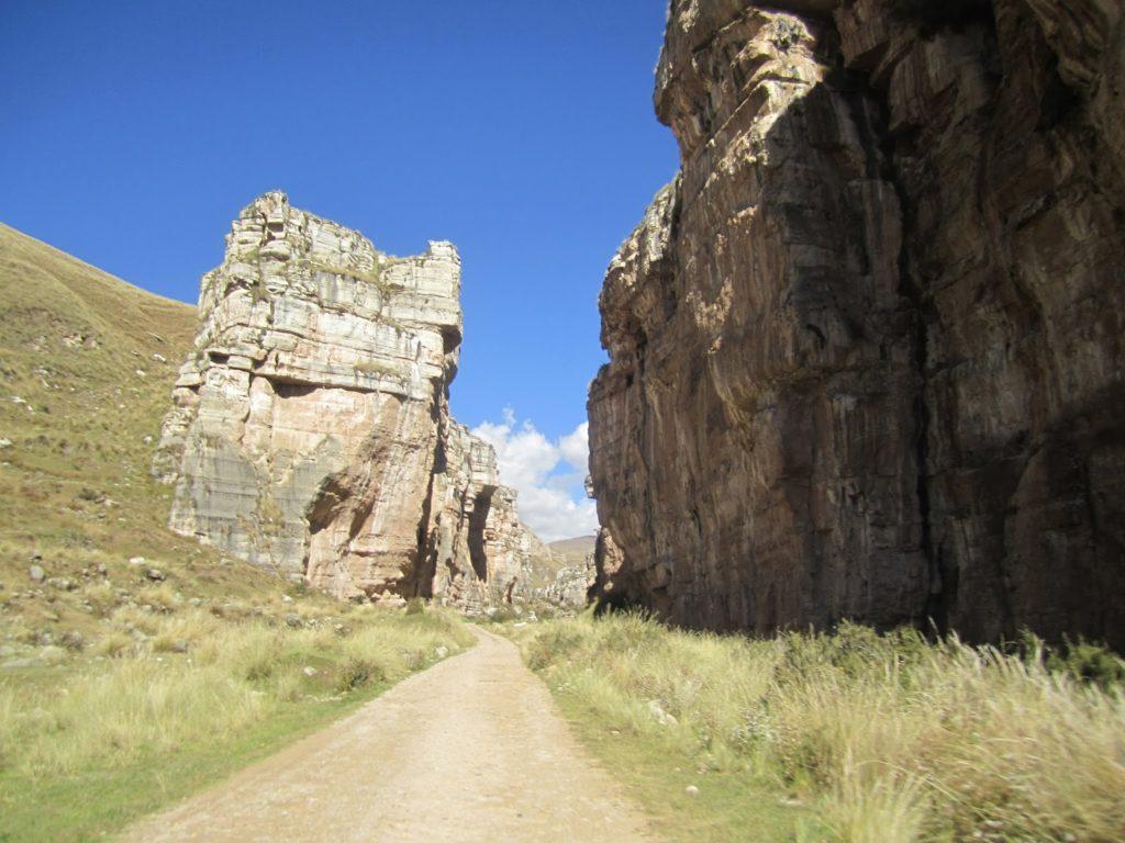 jauja, El cañón de Shucto