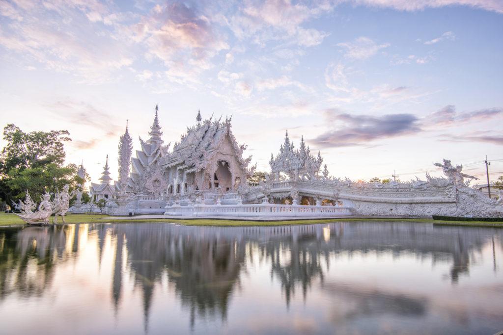 Que Ver y Hacer en Tailandia. ;) Chiang Rai. Wat Rong Khun.